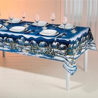 Modré prestieranie na stôl